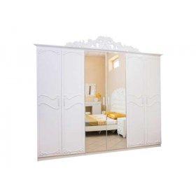 Шестидверный шкаф Лючия белая