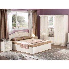 Спальный гарнитур Стелла белая