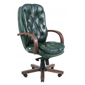 Кресло Венеция  Вуд/М-3 зелёное