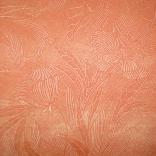 Ткань флок Винтаж coral