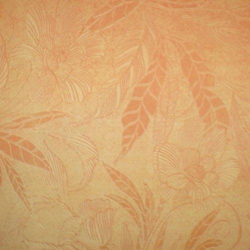 Ткань флок Винтаж peach