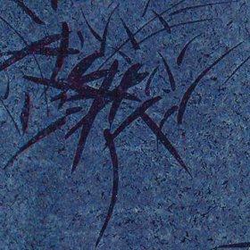 Ткань флок Джаз blue