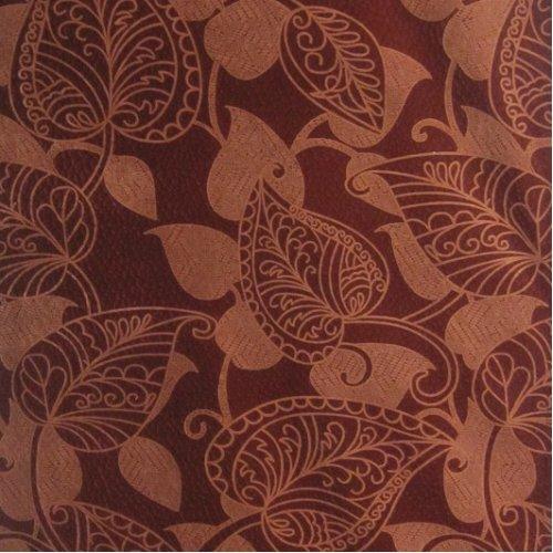 Ткань флок Офелия terracota