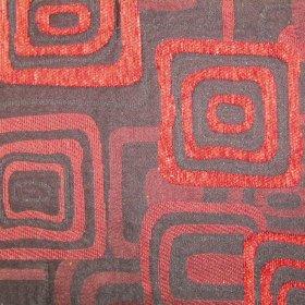 Ткань Шенилл Лада red
