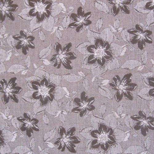 Ткань Шенилл Нота chocolate