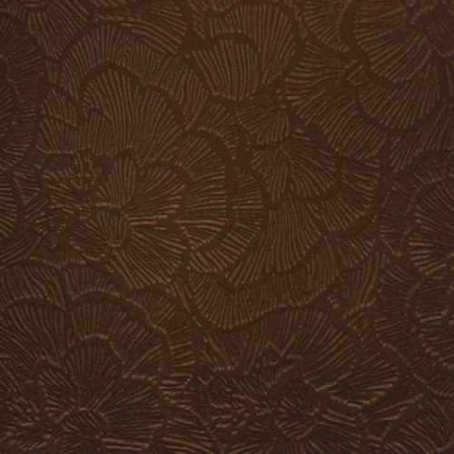 Ткань Флок Карелия Flower Brown