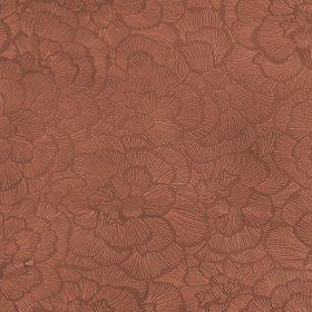 Ткань Флок Карелия Flower Terracota