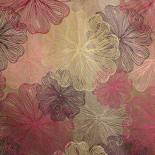 Ткань жаккард Женева Lilac