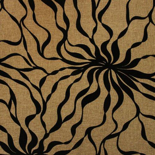Ткань Жаккард Саванна Флок Brown 05