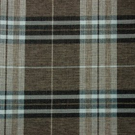 Ткань жаккард Шотландия Coffee