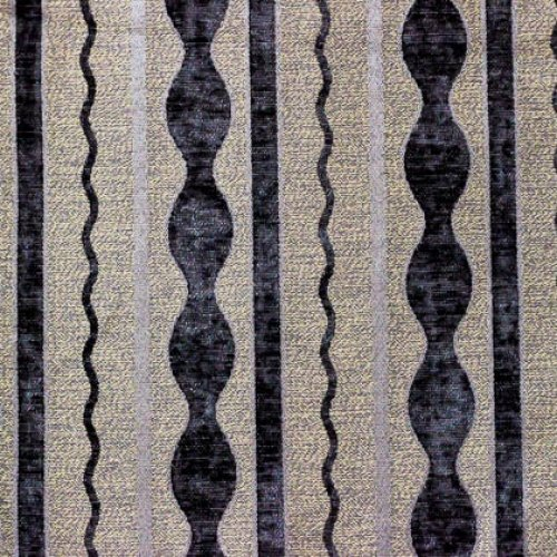 Ткань шенилл Жаклин Stripe Grey