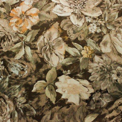 Ткань велюр Фиона Flower Beige