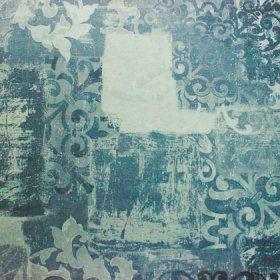 Ткань велюр Фиона Vintage Blue