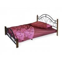 Кровать Диана на деревянных ножках 180х200