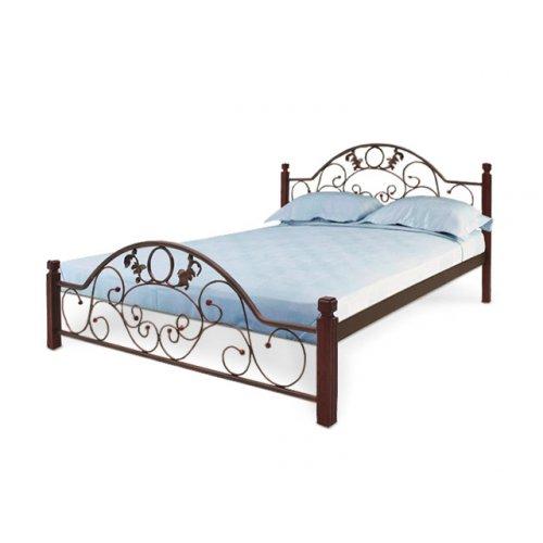 Кровать Франческа на деревянных ножках 140х200
