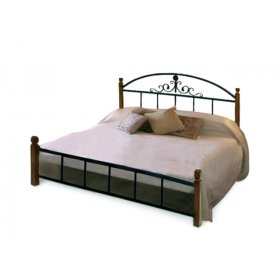 Кровать Касандра на деревянных ножках