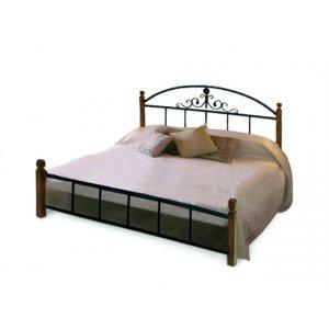 Кровать Касандра с деревянными ножками 180х200