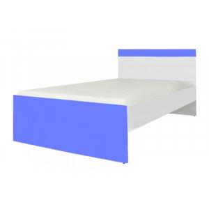 Кровать Loz/90 Моби нимфея альба/морская волна (каркас)