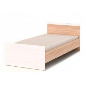 Кровать Loz/90 Моби дуб сонома/нимфеа альба (каркас)