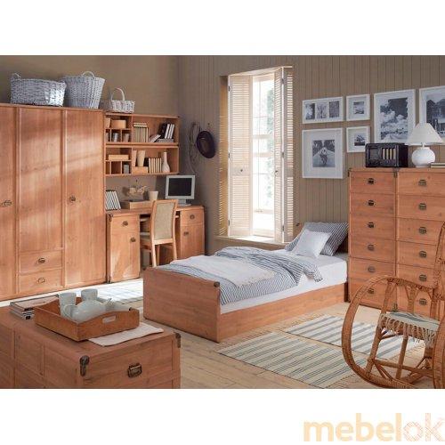Зеркальное отображение - Комплект мебели Индиана-3