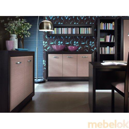 Зеркальное отображение - Комплект мебели Ларго-5