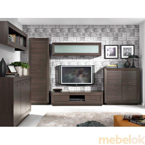 Зеркальное отображение - Комплект мебели Ларго-3