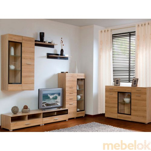 Зеркальное отображение - Комплект мебели Вушер - 1