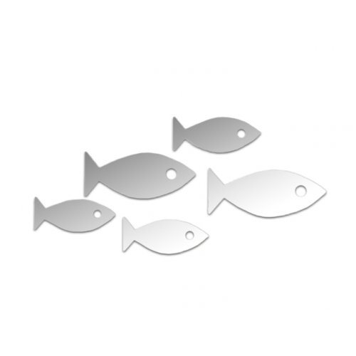 Зеркало Стая рыб