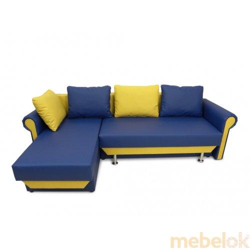 Зеркальное отображение - Угловой диван-кровать Шейрон