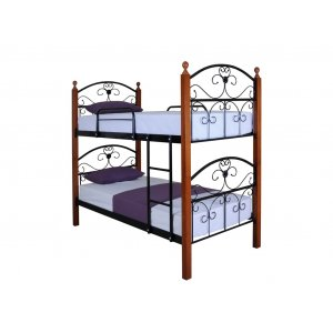 Кровать Патриция Вуд 2-х ярусная 90х200 см