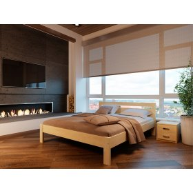 Деревянная кровать Соната 80х190