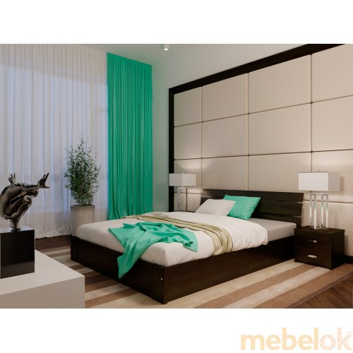 Кровать с подъемным механизмом Лагуна ПМ 180х200