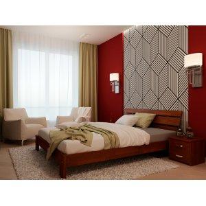Кровать Лагуна бук 180х190