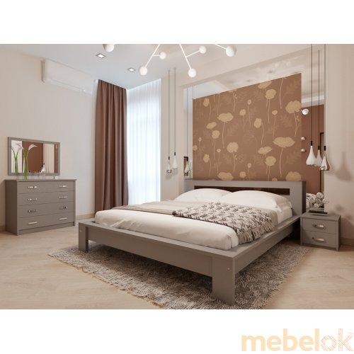 Кровать Сакура 160х200 с ортопедическим матрасом Комфорт на независимом пружинном блоке