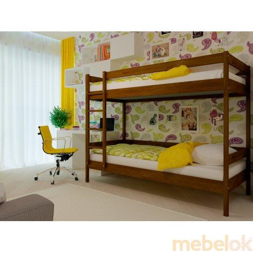 Двухэтажная кровать Твикс 80х190