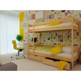 Двухэтажная кровать Твикс 90х190