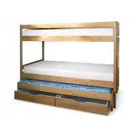 Двухъярусная кровать Трио 90х200