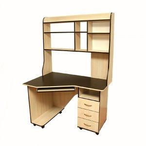 Компьютерный стол Ника 11. Купить стол компьютерный в магазине МебельОк.