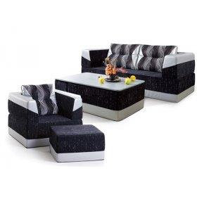 Комплект мягкой мебели Атлантик 2,0