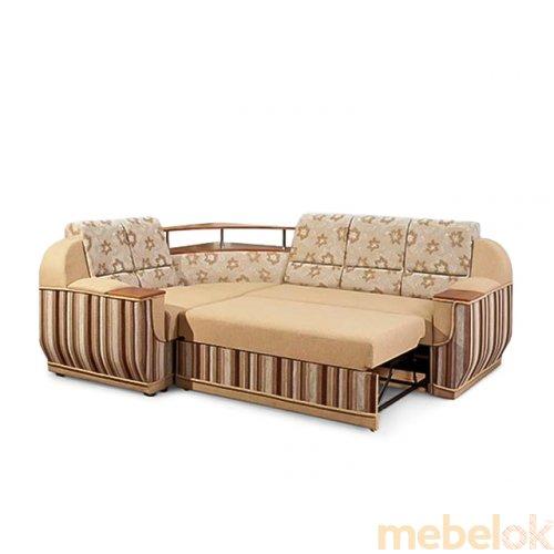 Зеркальное отображение - Угловой диван Маэстро без стола