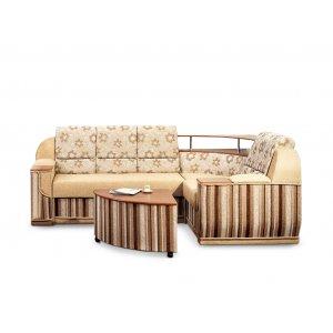 Угловой диван Маэстро со столом