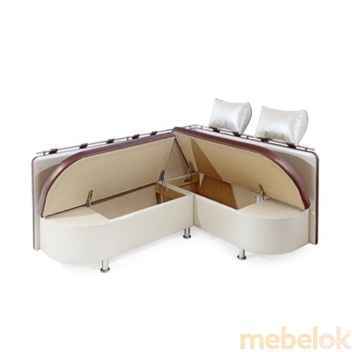 Зеркальное отображение - Кухонный угловой диван Палермо 1,8