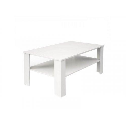 Журнальный столик белый матовый