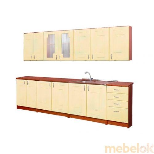 Зеркальное отображение - Кухня Карина 2м