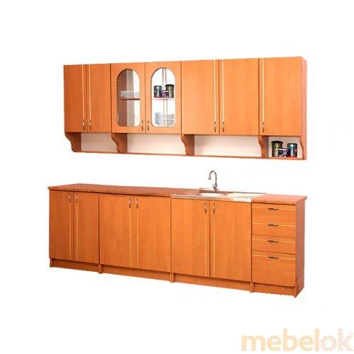 Зеркальное отображение - Кухня Вероника 2м