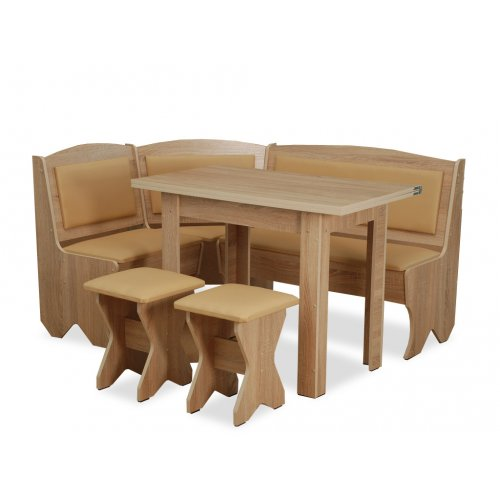Кухонный уголок Император с раскладным столом