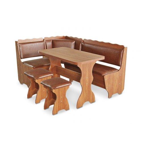 Кухонный уголок Граф со столом и табуретами