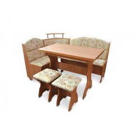 Кухонный уголок Сенатор со столом и табуретами