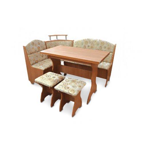 Кухонный уголок Сенатор с раскладным столом и табуретами