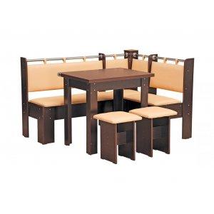 Кухонный уголок Гетьман с простым столом